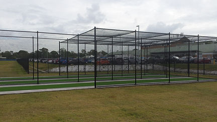 Cricket net construction and synthetic grass installation in Brisbane