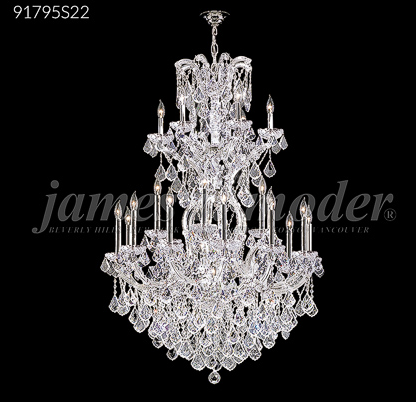 Crystal Chandelier 91795S22