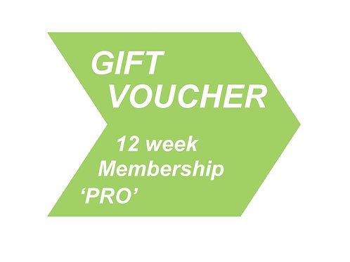 12 week Membership 'PRO'