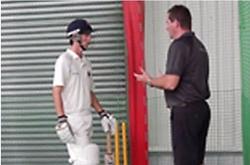Professional private cricket coach