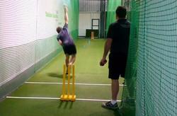Private cricket bowling coach