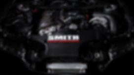 BMW S54B32-Motor mit ESS-Kompressorkit