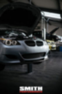 BMW E60 M5, Service, S85, V10, Werkstatt, Halle, Smith Performance, Workshop