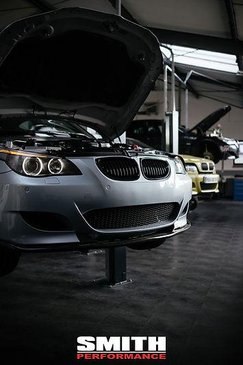 BMW E60 M5, Service, S85, V10, Werkstatt, Halle, Smith Performance, Workshop