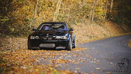 BMW E46 M3 Schwarz mit ESS Kompressor-Kit