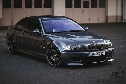 BMW E46 M3 mit Carbon Airbox und Alpha-N