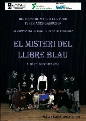 Teatre El misteri del llibre blau.JPG