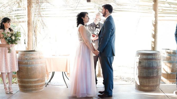 Oak Valley Vineyard Wedding Photography