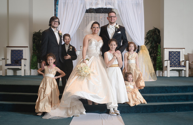 Cornerstone Church Wedding Photography in San Antonio