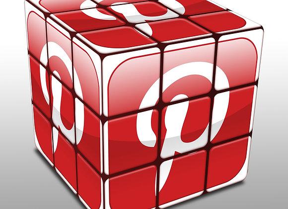 Pinterest Würfel als Logo für Pinterest Repins kaufen.