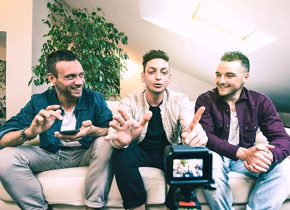Drei Youtuber kaufen Deutsche Youtube Abonnenten bei Likesandmore.