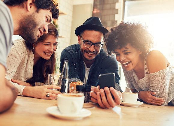 Gruppe beim Instagram Profilbesucher kaufen