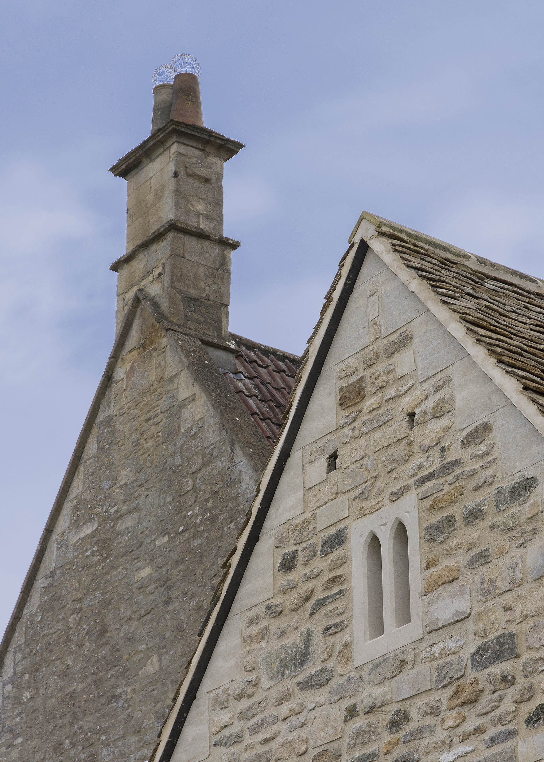 Cotswold stone gable