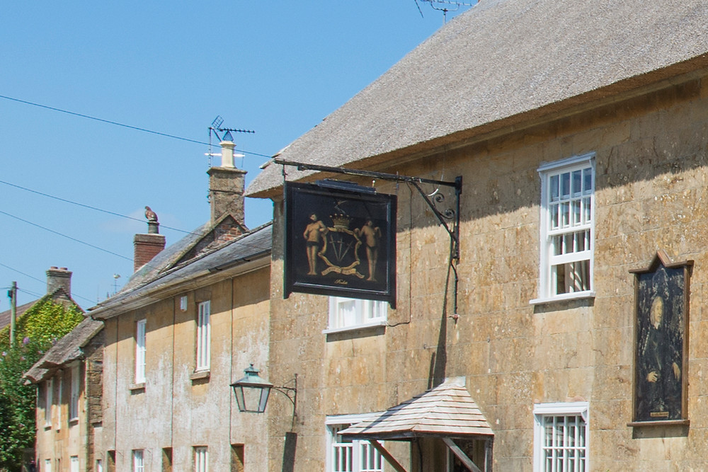 Works to a listed building on the Hinton St George Conservation Area, Somerset