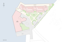 Fort Albert apartments - site plan