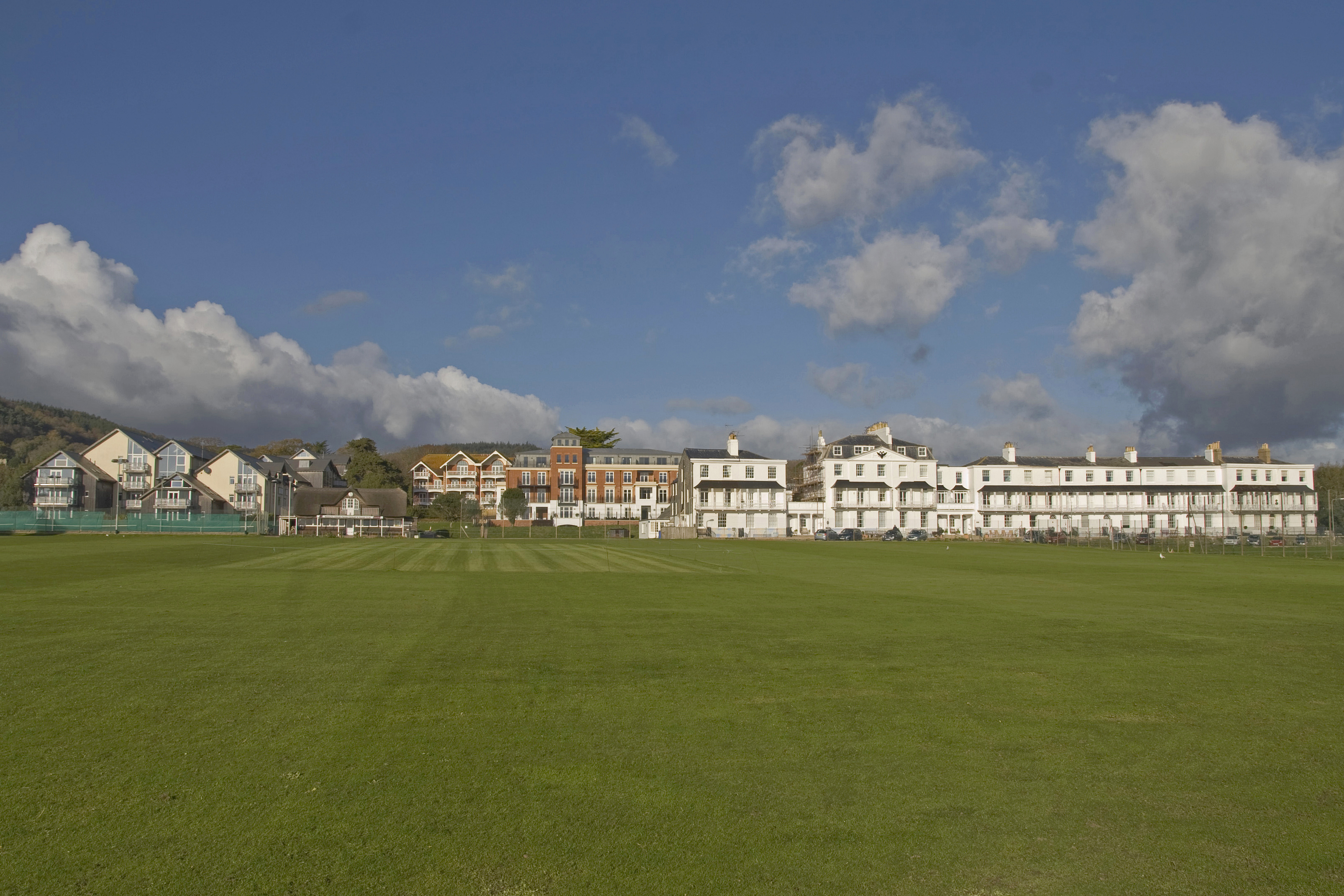 Apartments in Sidmouth, Devon - in the context of the listed buildings & conservation area