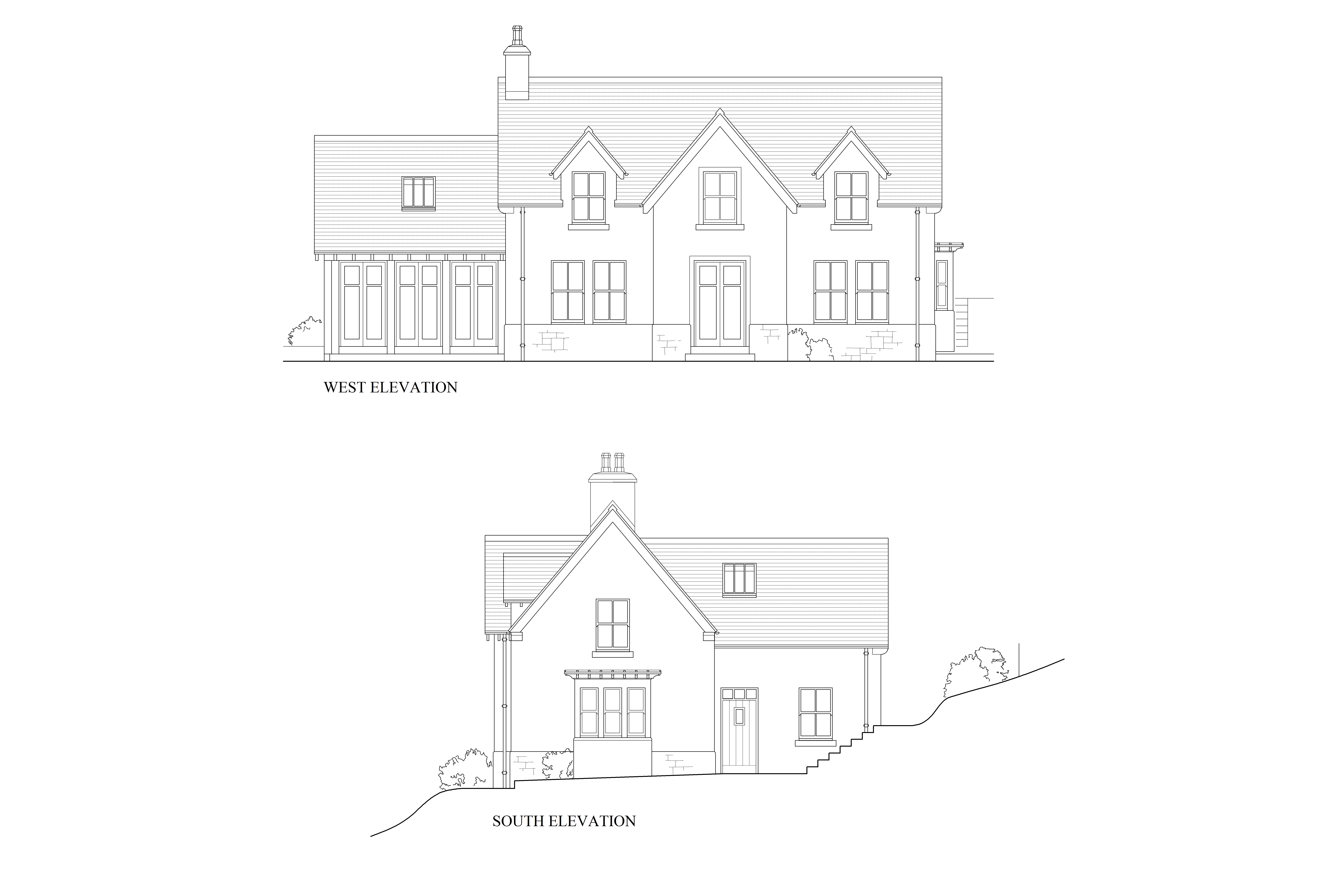 New vernacular house near Tongue, Scotland