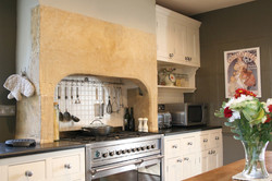 Conservation & refurbishment of a listed Georgian house in Martock, Somerset - kitchen interior