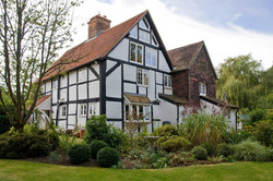 Conservation & refurbishment of a listed house in Church Crookham, Hampshire