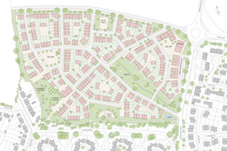 Mallets Park, Cambridge - masterplan