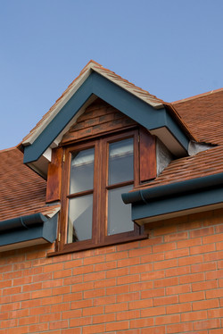 House in Marston Magna, Somerset - traditional dormer & roof detail