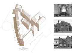 Old Grammar School, Coventry - traditional urban regeneration masterplan
