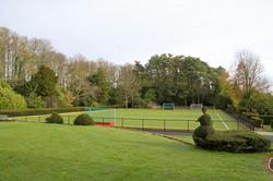 New hockey pitch - Perrott Hill School, Somerset