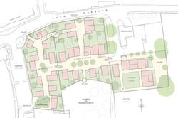 Sherborne House, Dorset - traditional housing masterplan