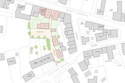 Traditional housing masterplan, Somerton, Somerset