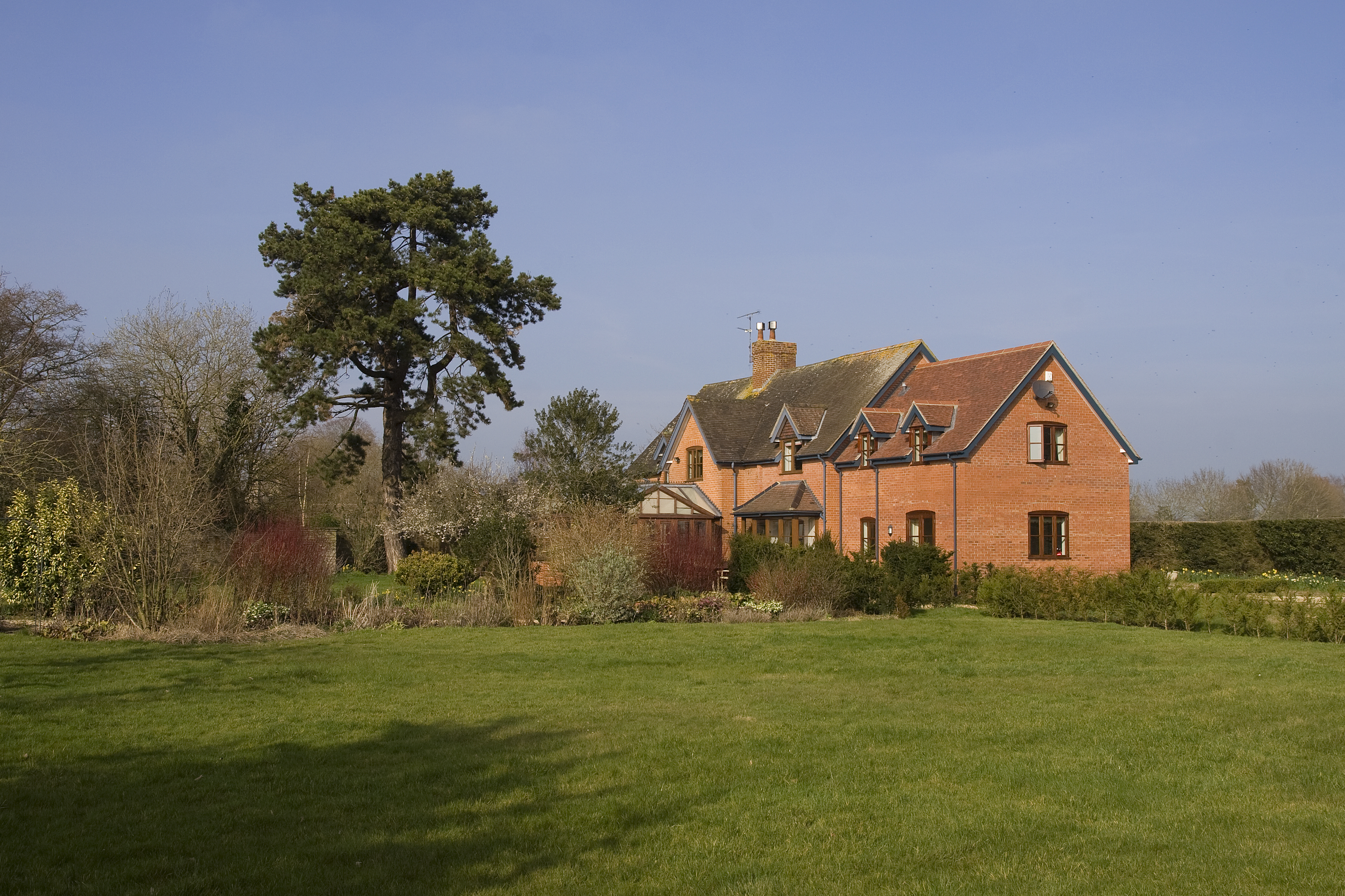 Extension to a Victorian house in the Marston Magna Conservation Area, Somerset