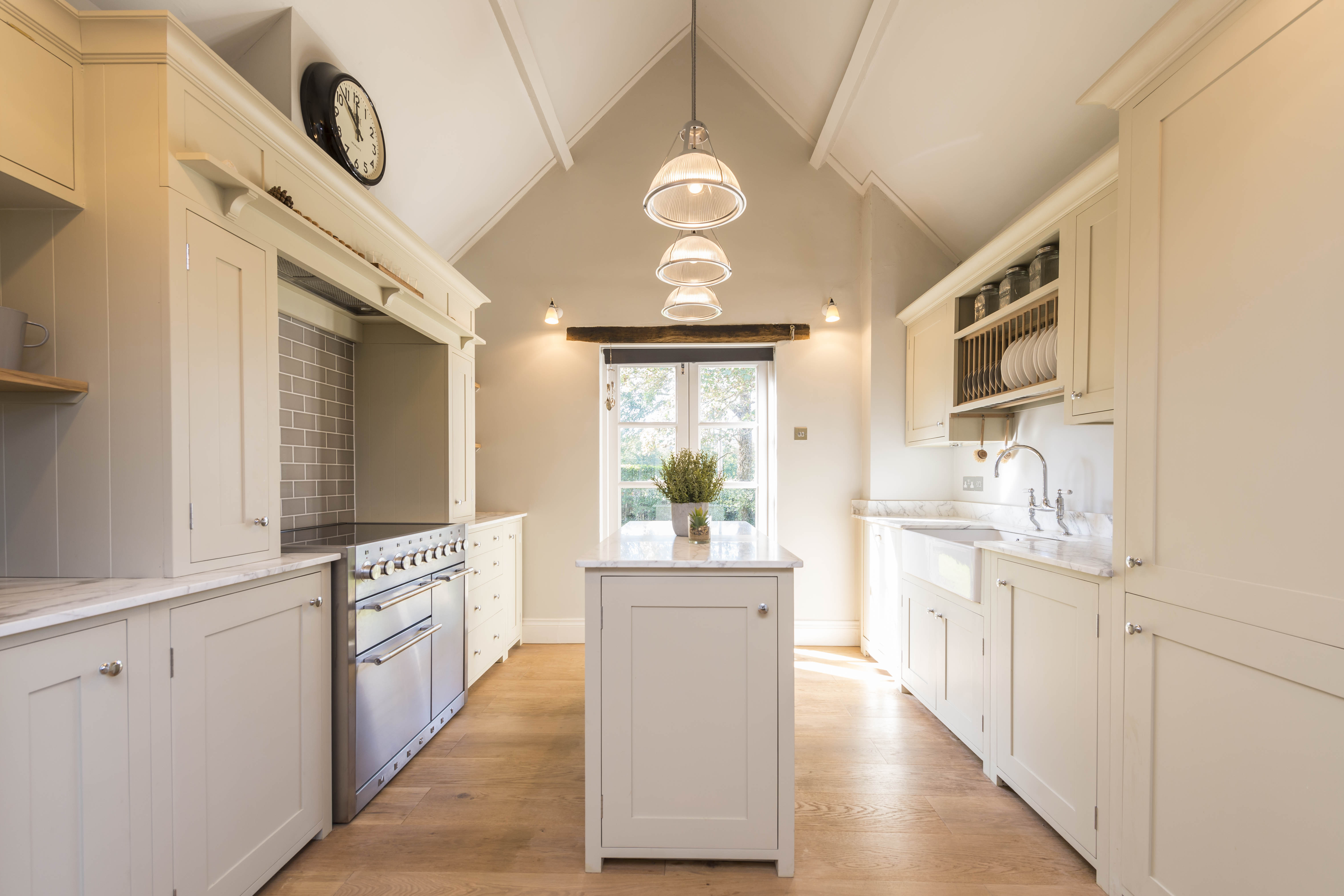 Kitchen in chapel conversion