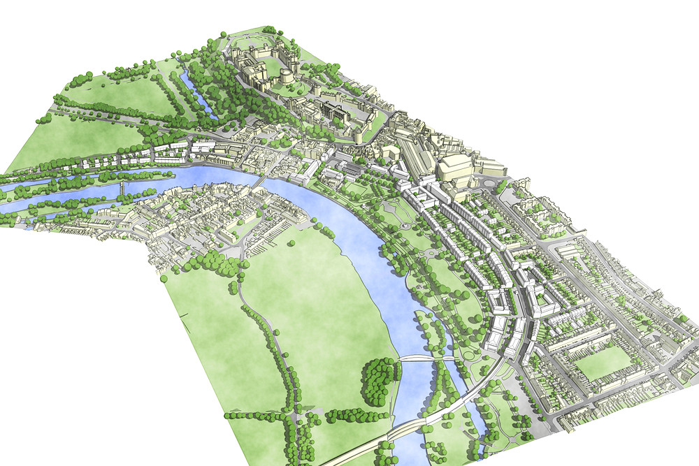 Masterplan for the regeneration of Windsor