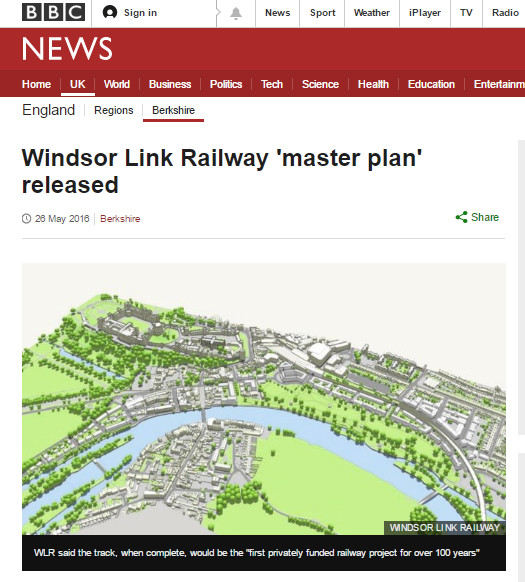 Regeneration masterplan for Windsor, Berkshire