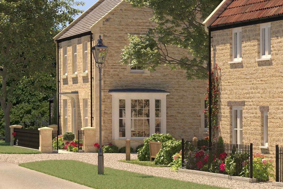 Hinton St George housing, Somerset.jpg