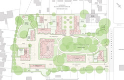 Nordon, Blandford Forum, Dorset - traditional residential masterplan