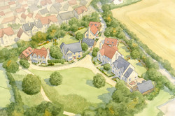 Norton St Philip, Somerset - South Site with traditional houses