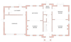 Classical house plan - Codford St Mary, Wiltshire