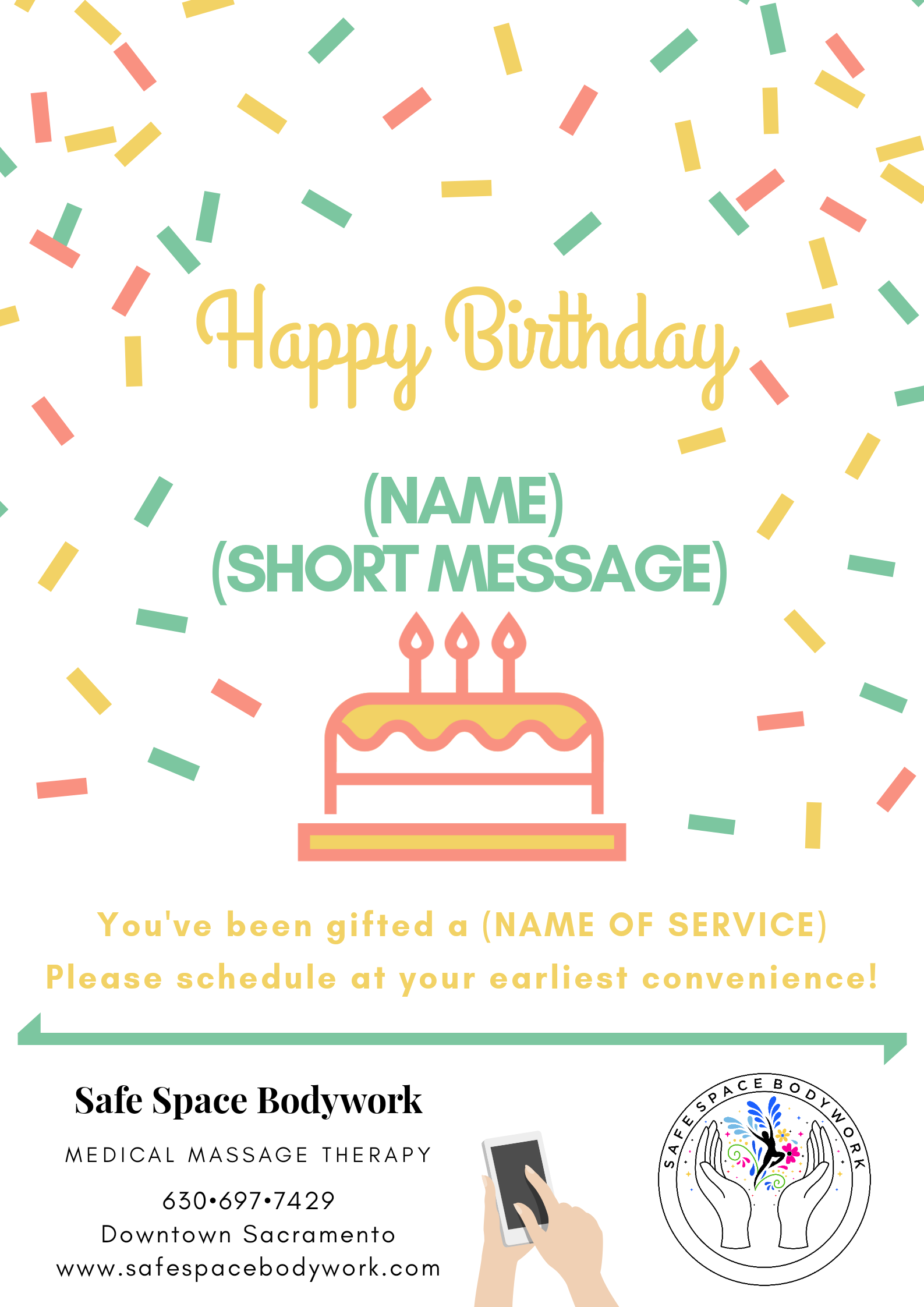 Gift Certificate Birthday