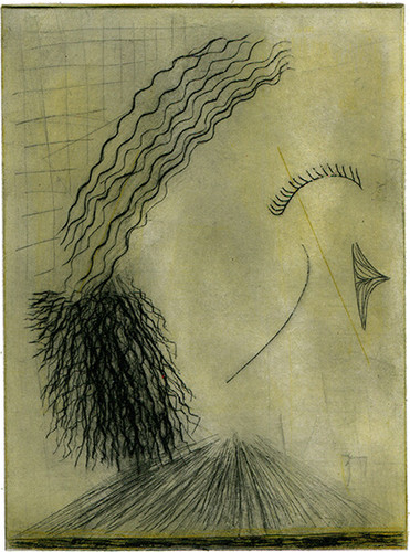 WANDERN 5 / dry-point etching
