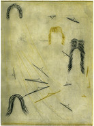 WANDERN 1 / dry-point etching