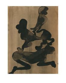 Zusammen, 2020, 18 x 24 cm, ink on paper