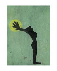 Greifen, 2020, 16 x 22 cm, ink on paper