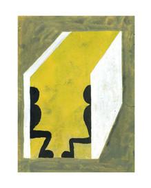 Versteck, 2020, 18 x 24 cm, ink on paper