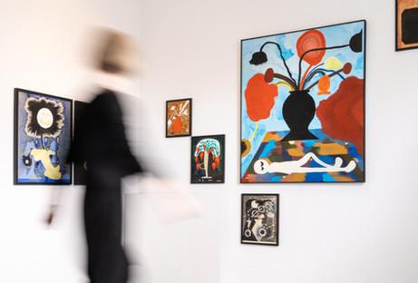 Exhibition view / Galerie Mellies Detmold 2021