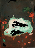DIE PFÜTZE / aquatint etching