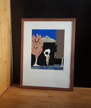 STREUNER / silkscreen / frame