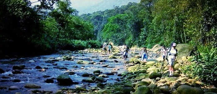 Vale do Mogi-Trilha antiga dos tupiniquins, Parque Itutinga Pilões - São Paulo