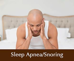 Sleep Apnea Snoring - general dentist Brentwood California