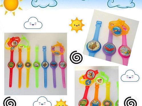 25 Relógio Infantil Brinquedo Sacolinha Lembrancinhas Mimos