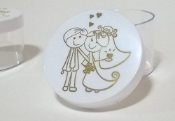caixa redonda lembrancinha casamento